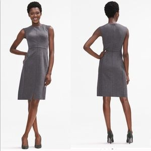MM LaFleur Katie Dress Fine Rib Carbon